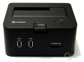 Vorderseite des Sharkoon SATA Quickport Pro