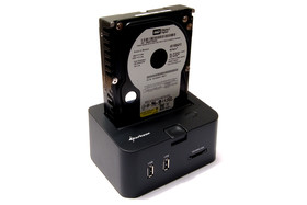 Sharkoon SATA Quickport Pro mit Western Digital Raptor WD1500ADFD