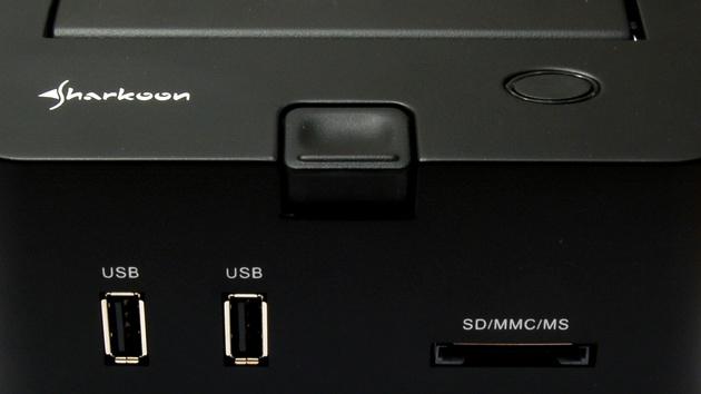 Sharkoon SATA Quickport Pro im Test: Datenträger, wechsel dich!