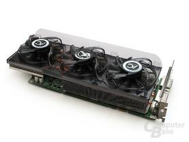 GeForce 8800 verschwindet unter dem Xtreme-Riesen