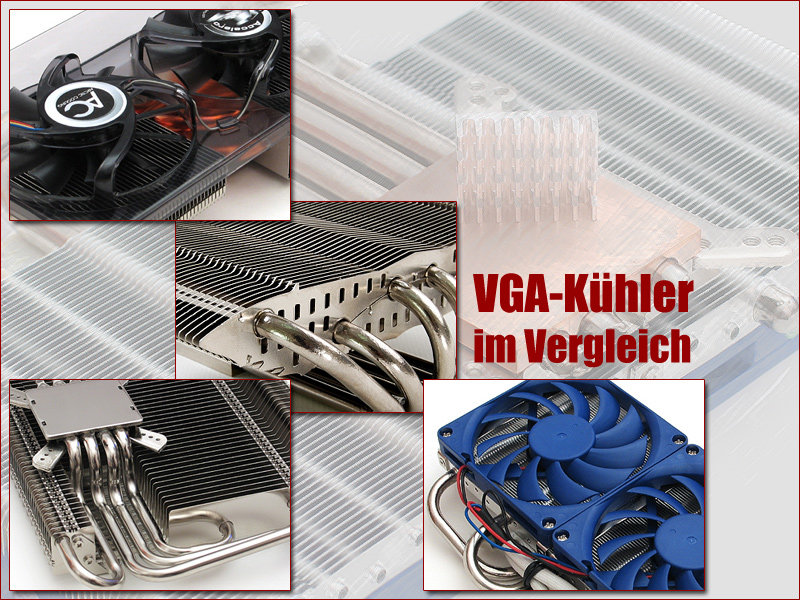 VGA-Kühler im Vergleich