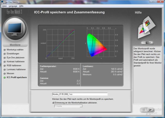 Monitortest mit unkalibrierten Dell UltraSharp 2408WFP