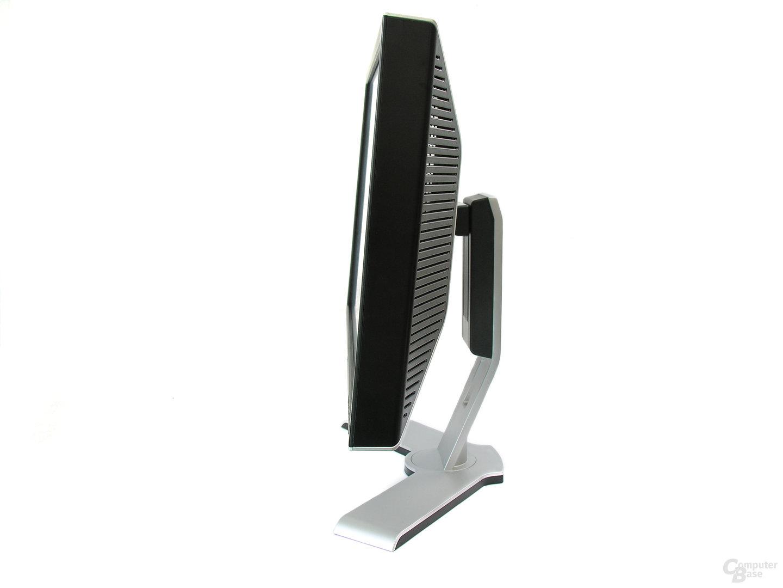 Seitenansicht Dell UltraSharp 2408WFP
