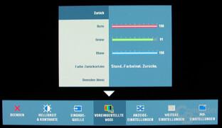 Manuelle RGB-Kalibrierung
