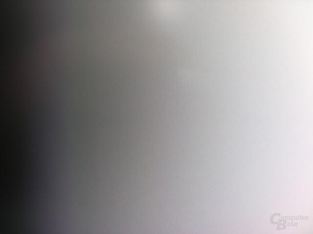 Nahaufnahme des Farbverlaufs auf dem Dell UltraSharp 2408WFP
