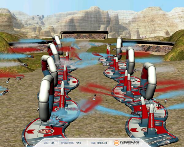 3DMark Vantage mit Ageias PhysX PPU