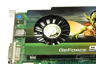 GeForce 9600 GSO Luefter