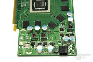 GeForce 9600 GSO Spannungswandler