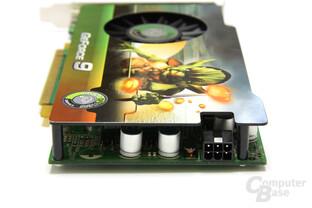 GeForce 9600 GSO Stromanschluss