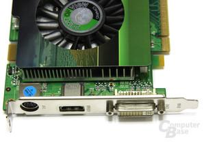 GeForce 9600 GSO Vorderseite