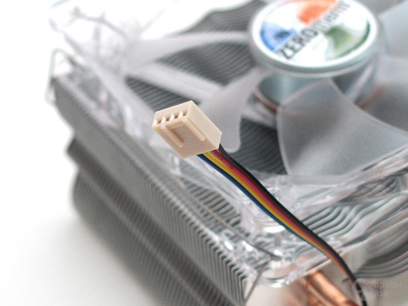 4-Pin-PWM-Anschluss zur Steuerung des Lüfters über das Motherboard