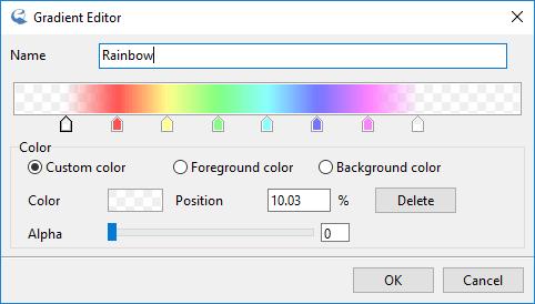 IcoFX – Gradient Editor