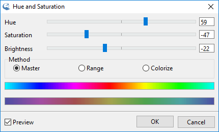 IcoFX – Hue and Saturation