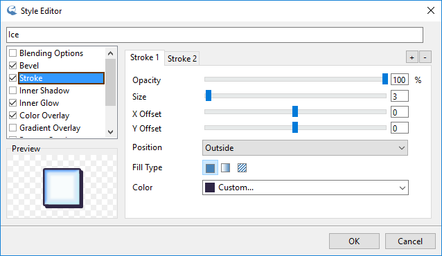 IcoFX – Style Editor