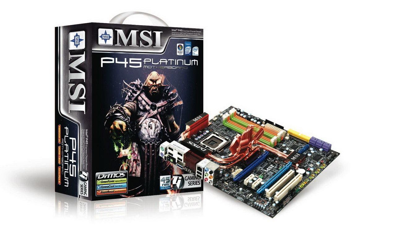 MSI P45 Platinum