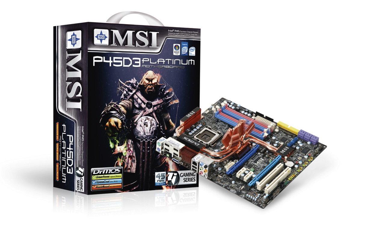 MSI P45D3 Platinum