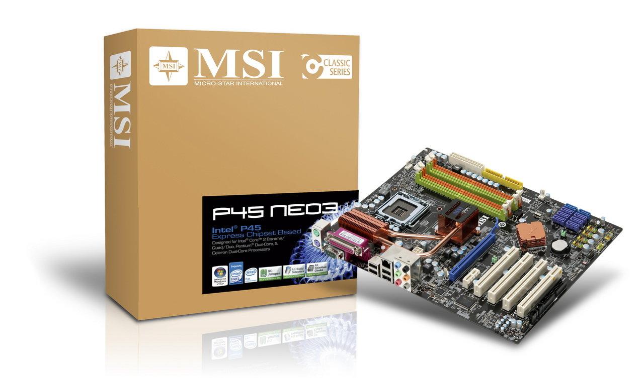 MSI P45 Neo3