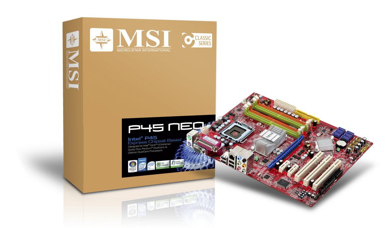 MSI P45 Neo