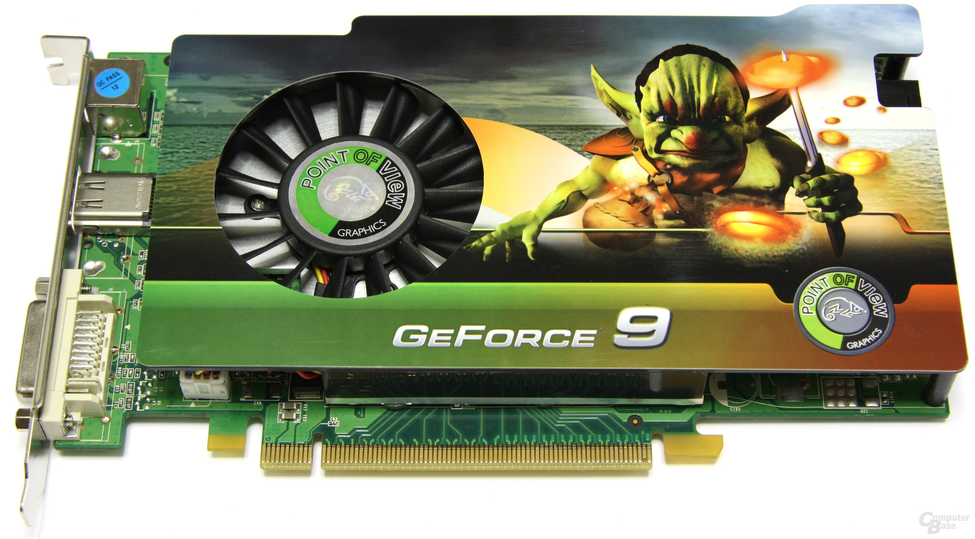 Point of View GeForce 9600 GSO