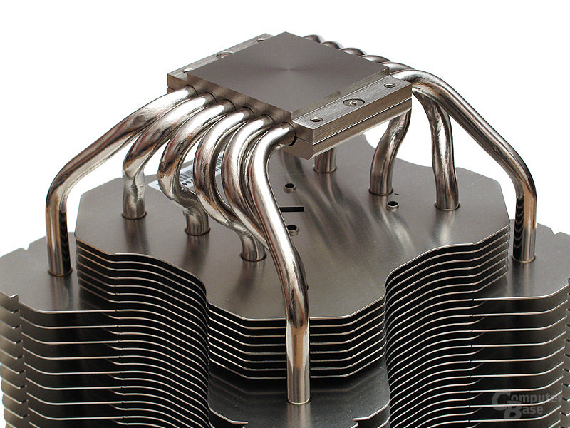 Sechs 6-mm-Heatpipes