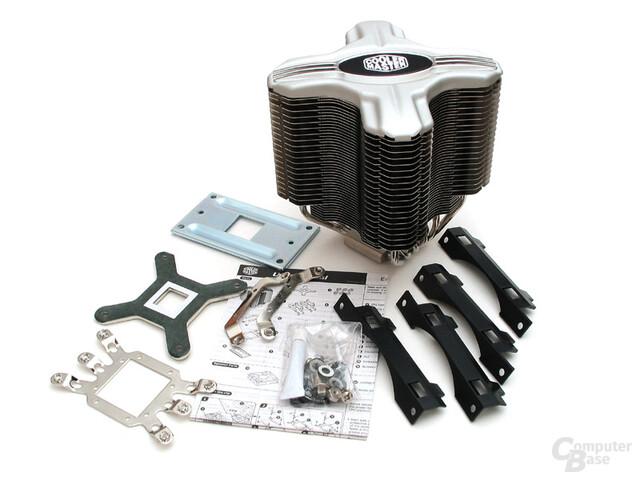 Coolermaster Hyper Z600 Lieferumfang