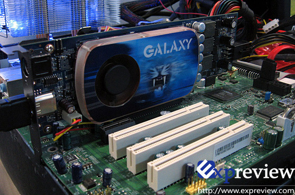 Galaxy GeForce 9600 GT Blade