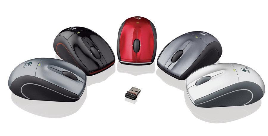 Logitech V450 Nano Cordless Laser Mouse for Notebooks