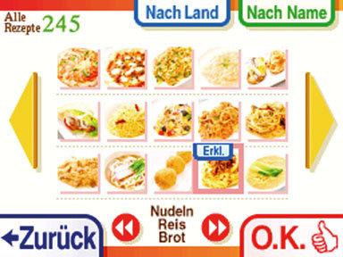 """""""Kochkurs: Was wollen wir heute kochen?"""" für Nintendo DS"""