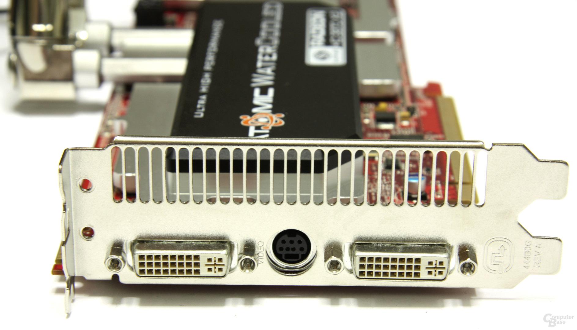 Radeon HD 3870 X2 Atomic Slotblech