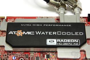 Radeon HD 3870 X2 Atomic Wasserkühler