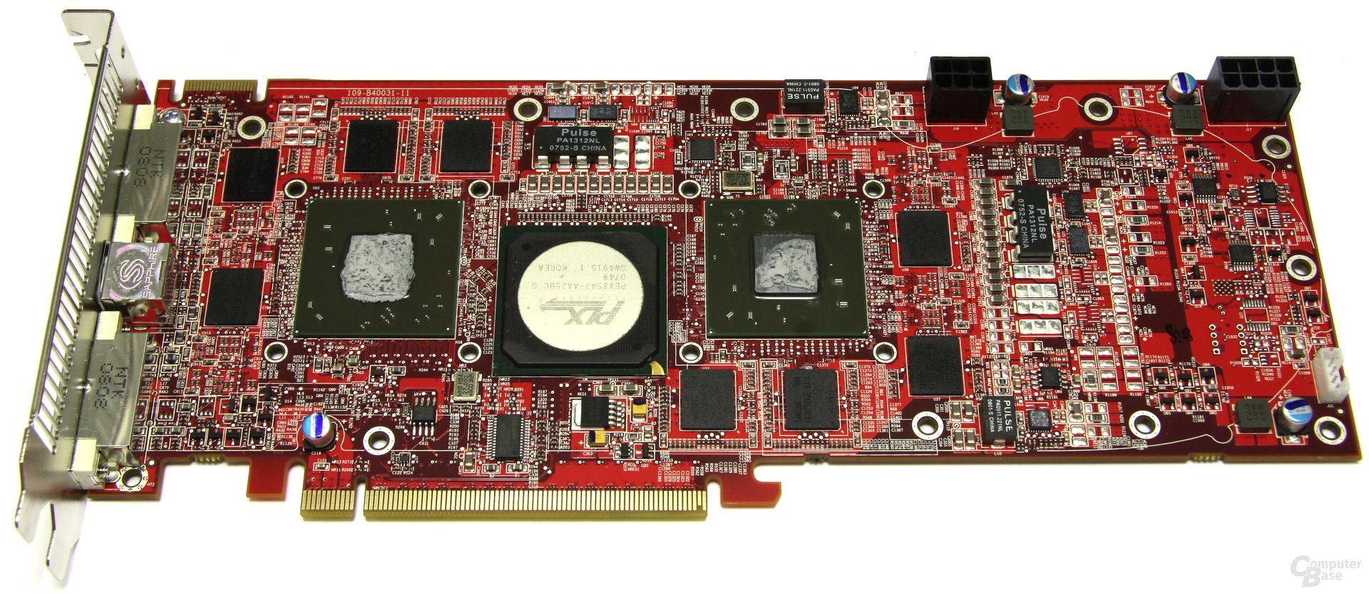 Radeon HD 3870 X2 Atomic ohne Kühler