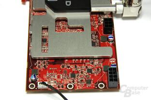 Radeon HD 3870 X2 Atomic Kühlung Spannungswandler