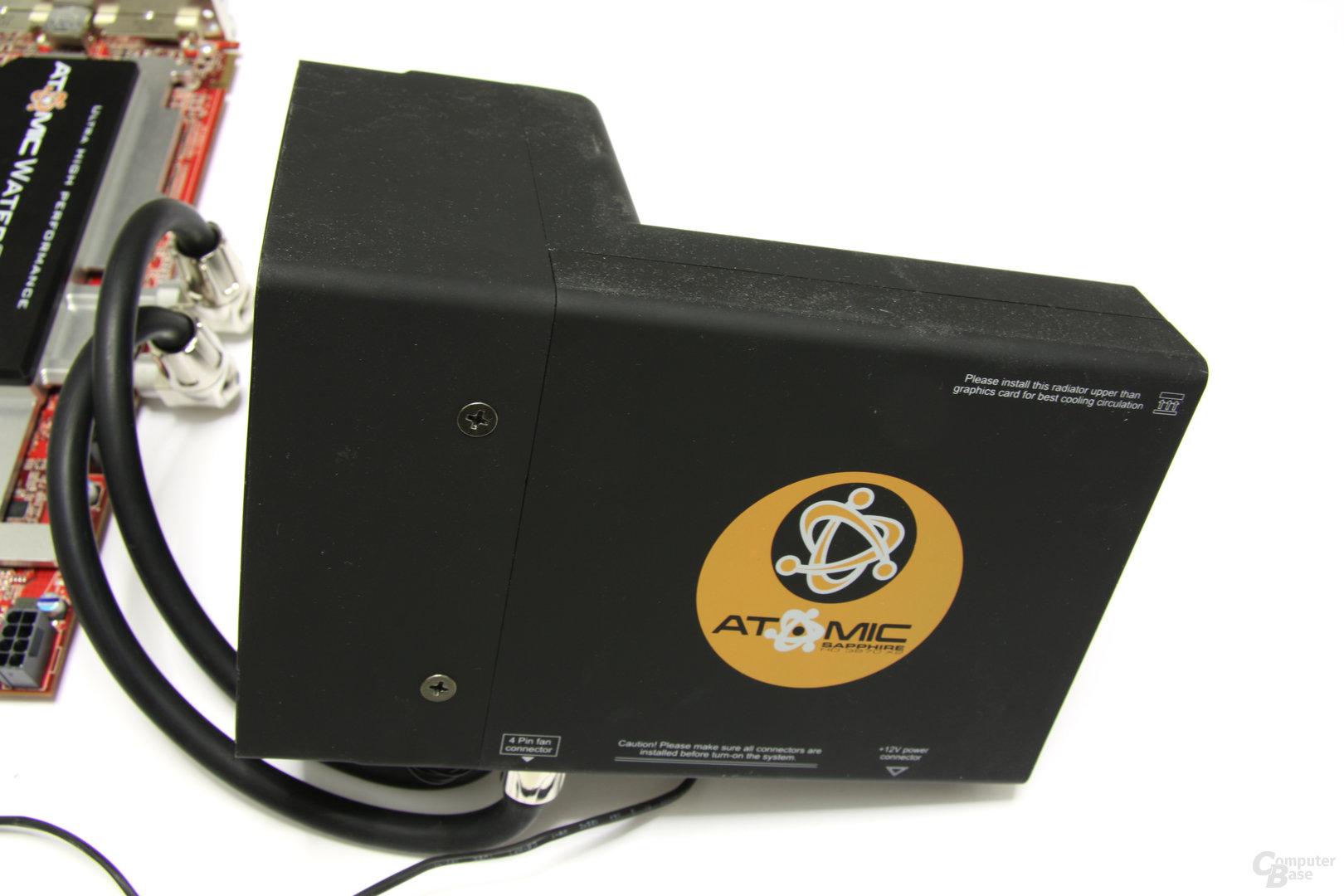 Radeon HD 3870 X2 Atomic Radiator