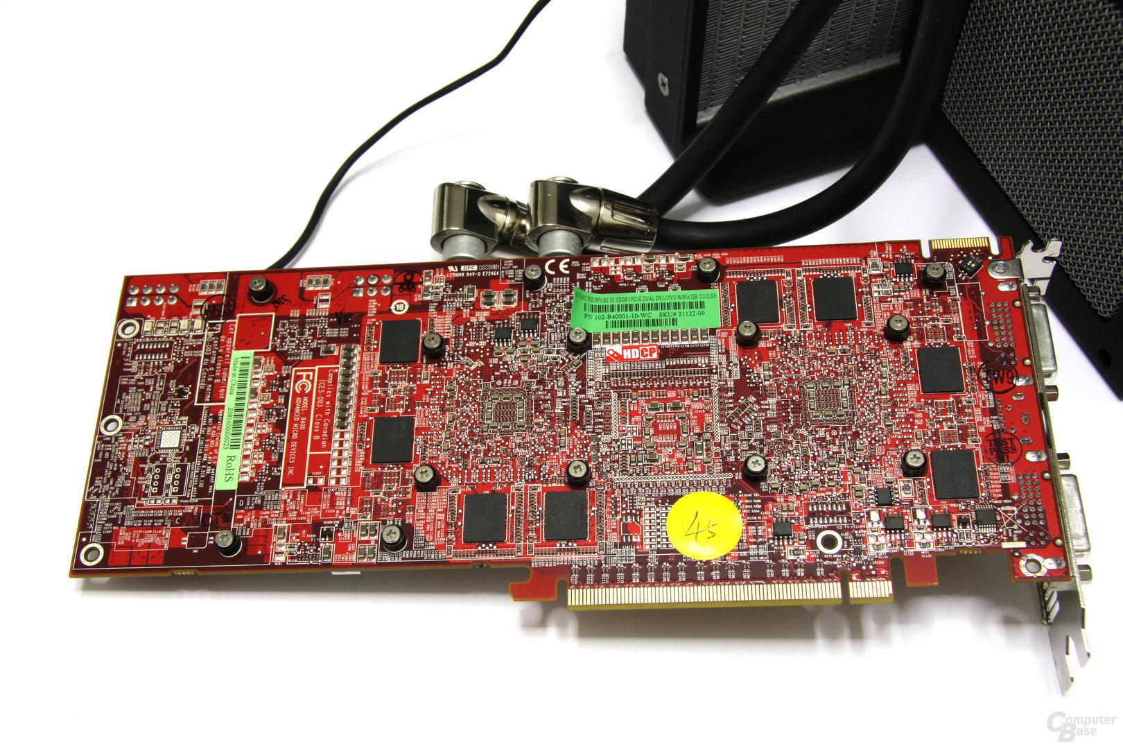 Radeon HD 3870 X2 Atomic Rückseite