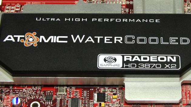 Radeon HD 3870 X2 Atomic im Test: Sapphire setzt ATis Flaggschiff unter Wasser