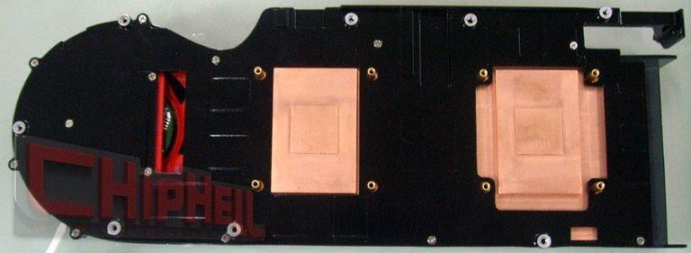 Kühler der Radeon HD 4870 X2 (R700)