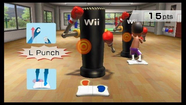 Wii Fit Rhythmusboxen