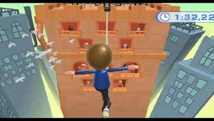 Wii Fit Seiltanz
