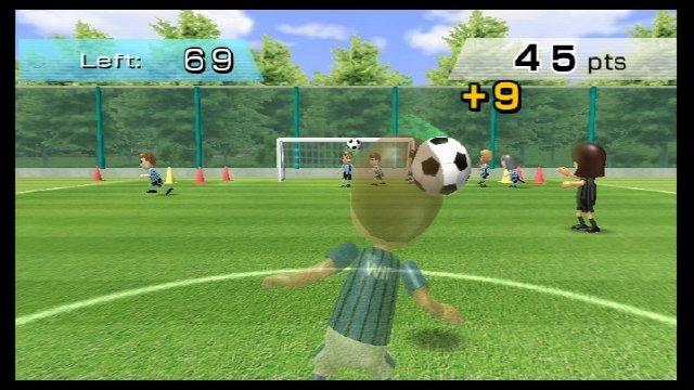 Wii Fit Kopfball