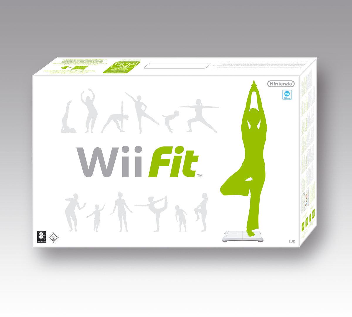 Wii Fit Packshot