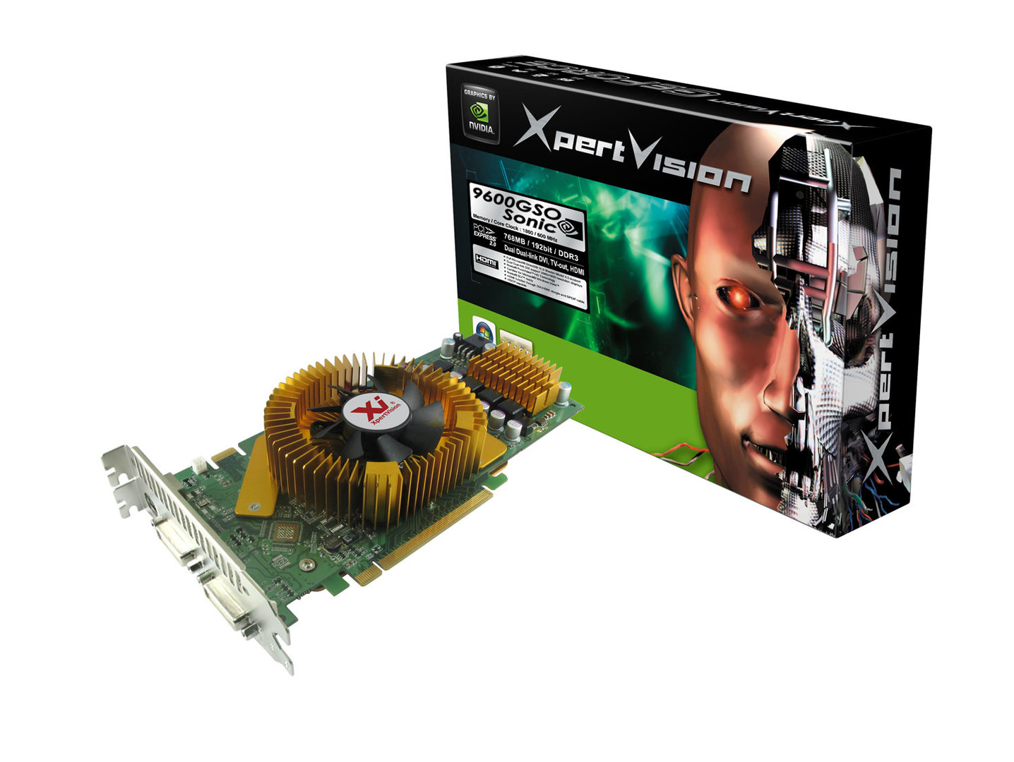 XpertVision GeForce 9600GSO Sonic
