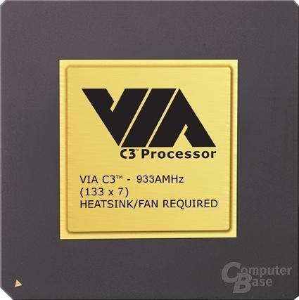 VIA C3 mit 933MHz