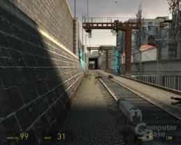 ATi RV670 Half-Life 2 -  1xAF