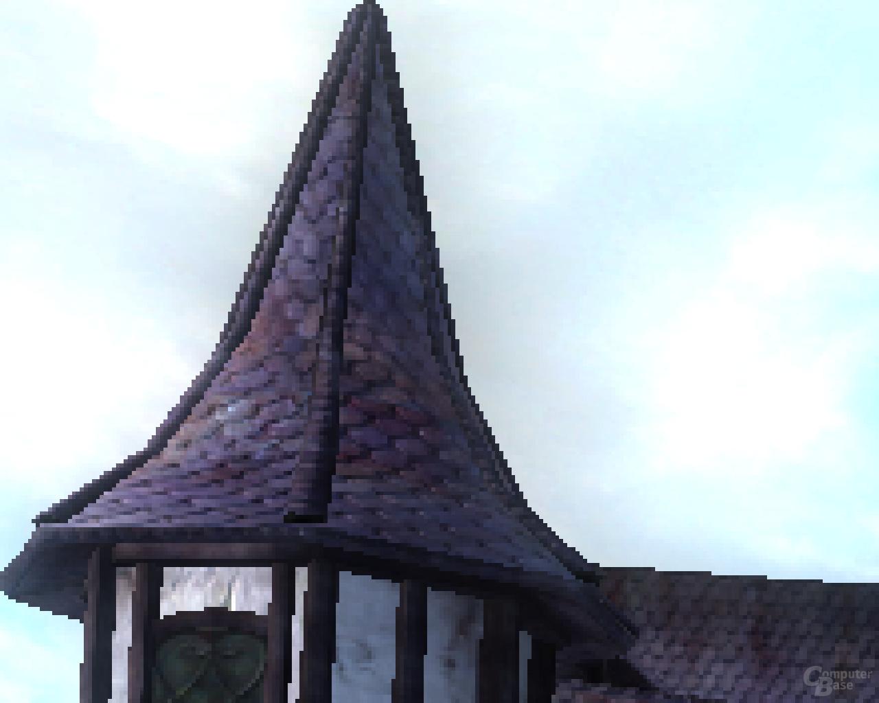 ATi RV670 Oblivion -  1xAA Zoom