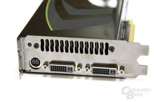 GeForce GTX 280 Slotblech