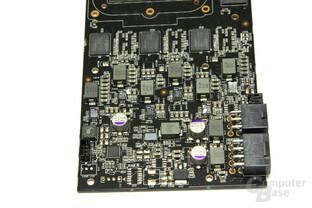 GeForce GTX 280 Spannungswandler