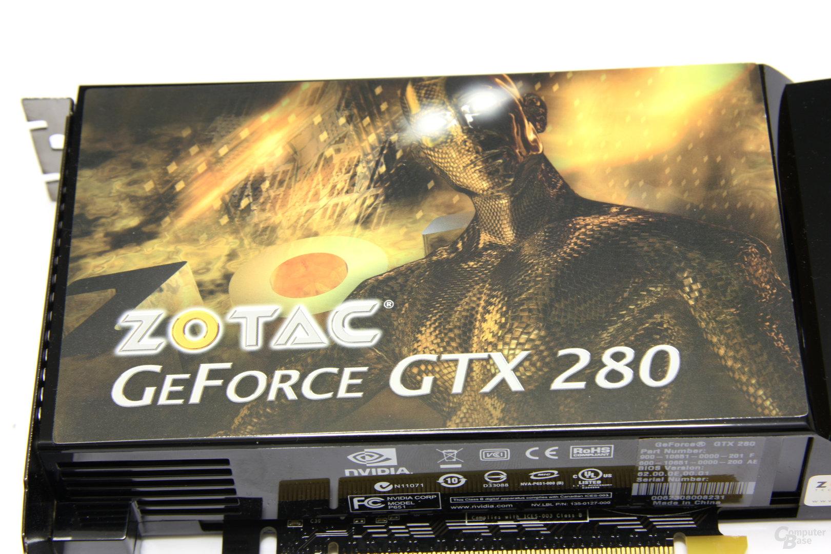 Zotac GeForce GTX 280 Logo