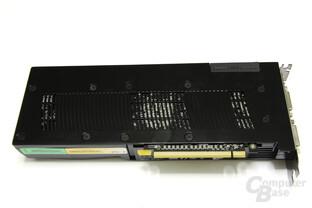Zotac GeForce GTX 280 Rückseite