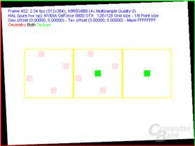 nVidia G92 FSAA-Viewer - 4xAA