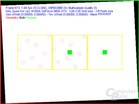 nVidia G92 FSAA-Viewer - 8xQAA